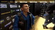 Andrew Alvidrez rides Losing My Religion for 87.5 points