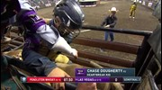 Chase Dougherty rides Heartbreak Kid for 89.5 points