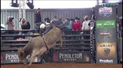 Top Bull: Ridin Solo bucks off Dalton for 47 points