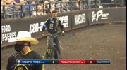 Jose Vitor Leme rides Sitting Bull for 88.75 points
