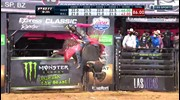 WINNING RIDE: Silvano Alves rides Viper for 86 points